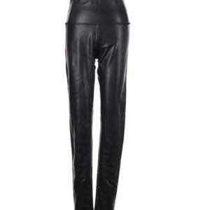 MIAMI FAUX LEATHER PANTS in BLACK~S
